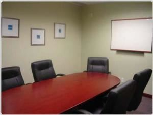 Board Room, Howard Johnson Express Inn & Suites Brampton, Brampton — From hourly to daily, our boardroom rentals will suit any business need.  