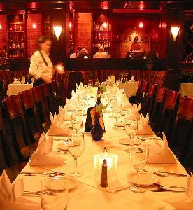 Main Dining Room, Mario's Place Restaurant, Riverside — Main dining room seats up to 100 guest.