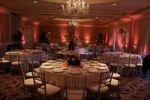 DFW Wedding and Event Lighting, Dallas — Wedding Uplighting - LED uplighting.
