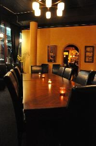 The Cellar at Thirst, Thirst Wine Bar & Bistro, Portland — board room style