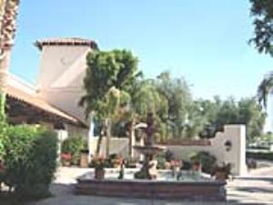Fountain Courtyard, Arizona Golf Resort, Mesa — Fountain Courtyard