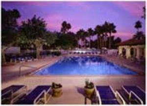 Pool Side, Arizona Golf Resort, Mesa — Pool Side