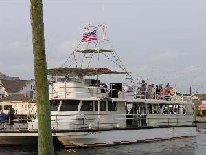 Winner Cruise Queen, Winner Party Boats, Carolina Beach — 65 ft. Winner Cruise Queen. 145 person maximum capacity. Outside catering permitted to be brought on board.