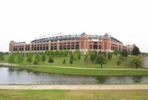Rangers Ballpark in Arlington, Arlington