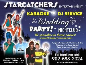 Starcatchers Entertainment with hosts Kraye & Zea, Bridgetown — From interactive DJ to colourful theme parties, Kraye & Zea will ensure that your event is a huge success for everyone! Call Starcatchers Entertainment today.