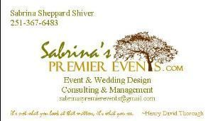Sabrinas Premier Events, Fairhope