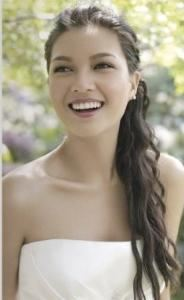 Claire Coleman Makeup, New York — From the Alfred Angelo Bridal catalog that I did makeup for.