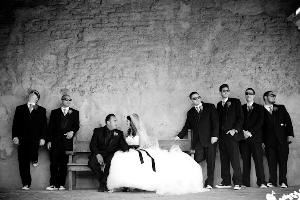 Cortney Helaine Events, Dana Point — I love this photo at the Mission in San Juan Capistrano... Its the perfect black and white photo!