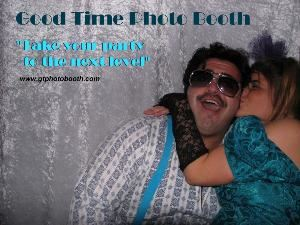 Good Time Photo Booth Rental-San Diego - Temecula, Temecula — We will take your party or event to the next level!  A photo booth is a people magnet.  Guarantee your event's success with high speed, high quality photo booth.  Print photos in duplicate instantly at your party or big event.  Weddings, Bar Mitzvahs, Quinceaneras, Sweet Sixteens, Grad Nights, Prom Nights, Reunions, Holiday Parties, Trade Shows, Grand Openings, Product Branding, Team Building and more.  Print your logo, your names, your contact infomation etc.  Have the photos made into refrigerator magnets and your photo will always be in front of someone.  Call and book now!  Some dates are available at 50% off.  Contact us for details.