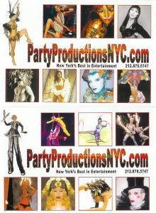 Party Productions NYC, New York