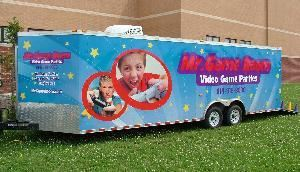 Mr. Game Room Mobile Video Game Parties, Columbus — Mr. Game Room is the Hot New Birthday Party Idea.  Our Mobile Video Game Room is Filled with All The Latest Games on Xbox360, Play Station 3 and the Nintendo Wii.