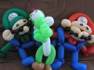 Balloons By Sarah, Philadelphia — These guys are the most famous video game characters in the world!