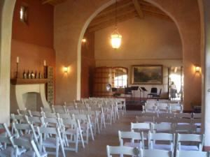 Great Hall and Lawn, Casa Rondena Winery, Albuquerque — Great Hall