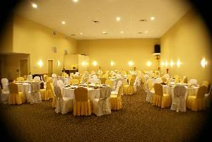 The Galloway Ballroom at Clarion Inn & Suites Atlantic City North, Clarion Inn & Suites Atlantic City North, Absecon — The exquisite Galloway Ballroom at the Clarion Inn & Suites Atlantic City North will provide an elegant backdrop to your special occasion. Our catering and event specialists will handle all of your details with genuine care and personal attention. An ideal banquet facility and formal gathering space ideal for your most memorable occasions such as a weddings, ceremonies, birthday parties, receptions, corporate functions for 100-150 guests.