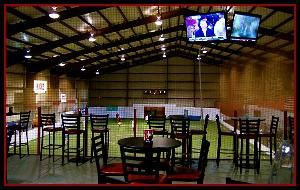 Kicks Indoor Soccer & Gym, Houston — View from our overlook lounge.