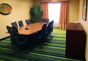 Board Room, Fairfield Inn & Suites Seymour, Seymour — Fully Equipt Board Room