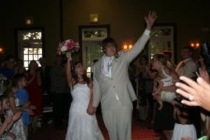 All Request Music by DJ Dave, New Orleans — DJ Dave announces the bride and groom