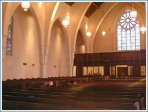 Church Sanctuary, Calvary Presbyterian Church, Riverside