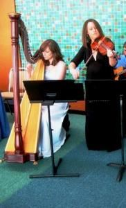 Grace Note Harps ~ Harp Violin Duet & Trio, Cape May