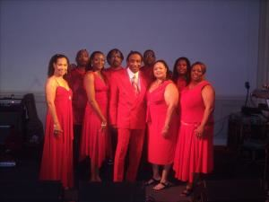 Johnny White & The Elite Band, Greensboro — AWESOME  show and dance band. With over 20 years of musical experience, these professional musicians perform for all ages. As SPECIALIST in wedding receptions, corporate and private events, reunions, festivals and outdoor concerts, this MAGNIFICENT BAND travels with a full production of sound and lights. You have the option of selecting the type of music you want performed so your event will be remembered FOREVER. Available with 6, 9, or 13 performers.