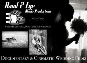Hand 2 Eye Media Productions, Stoney Creek — Hand 2 Eye Media Productions has been producing creative wedding films for the past 15 years. VISIT OUR WEBSITE AT www.hand2eye.com