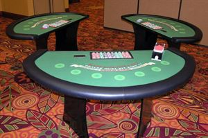 Casino Themed Holiday Party - For Up To 120 People, Vegas 2 U, Avondale — Blackjack Tables