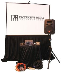 Small Meeting Audio/Visual Package, Productive Media, Inc., Watertown