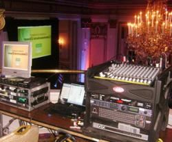 Ballroom Sized Meeting Audio Visual Rental Package, Productive Media, Inc., Watertown — At Copley Ballroom