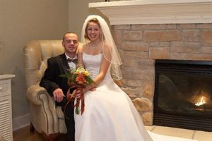 "INDOOR FIREPLACE WEDDING PACKAGE, Timber Creek Bed & Breakfast, Paxton — ""Perfect for Romantic Winter Weddings"""