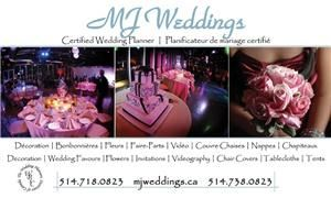 Wedding Day Coordination Package (0-99), MJ Weddings & Events, Montreal