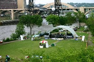 Raspberry Island, Harriet Island, Saint Paul — Raspberry Island