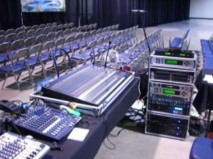 APB Pro Sound, Long Beach — If you want the best sounding event your budget can buy then your 'All Points Bulletin'  has been heard !!    APB Pro Sound™  is here to make your event the best it can be at a price Anyone can afford.  We have Systems for Thousands of people, like this Large Set up for Long Beach Convention Center, down to Small systems for just Ten to Twenty people.