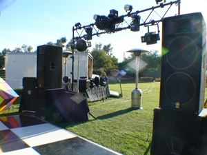 Deluxe Sound and Dance Floor Lighting, DJ 'K' - Excellence Unmatched, S.A.G., Palmdale — Deluxe Sound and Lighting