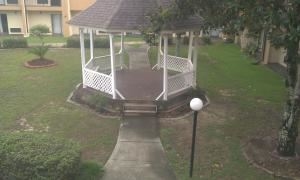 Outside Gazebo and lawn space, Quality Inn & Suites Pensacola, Pensacola