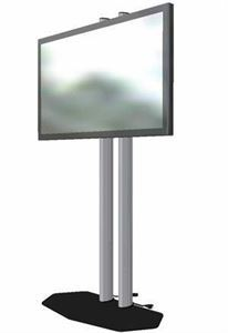 LED/LCD Display Rentals , Audio Video 4 Rent, Chatsworth — 42 inch plasma display with stand