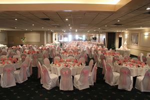 Sapphire Package, Patrician Catering & Venue, Eastlake — Whole Hall