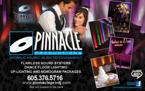 Pinnacle Productions, Colman — Pinnacle Productions Lighting and Sound Design would love to help you plan YOUR celebration and discuss how to make your event the very best it can be.