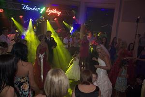 Complete DJ System Rental for Weddings and Parties - 20'w x 12'h, Thunder-N-Lightning, Tulsa — It Brings the Party!