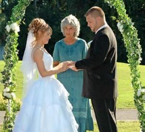 Diamond Wedding Ceremony Package, Seven Springs Golf and Country Club, New Port Richey — Ceremony