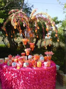 Sweet Creations by Judy, Menifee — We can design any candy buffet!  What a wonderful way to say thank you to your guest by letting them pick out the candy they like.