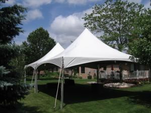 All In One Party Rentals, Merrillville — canopy tents available in all sizes. Side curtains, lighting, heaters and fans available.