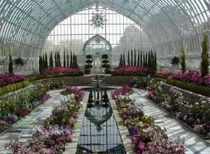 Sunken Garden, Como Park Zoo And Conservatory, Saint Paul