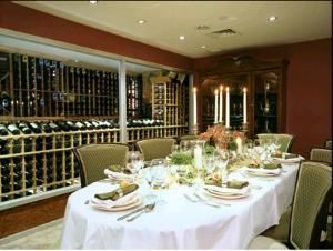 Private Vip Dining Room & Wine Cellar (Combined), Ponticello Ristorante, Astoria — Private Vip Dining Room & Wine Cellar