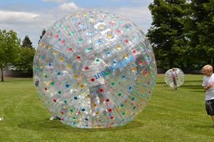 Birthday Party Package - Human Hamster Ball, Games All Out, Vacaville — Human Hamster Ball