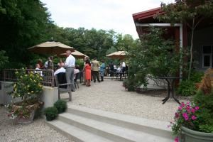 Patio, Laketown Golf & Conference Center, Saugatuck — Patio view