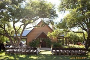 Celebration Hall, Red Corral Ranch, Wimberley — Exterior of Celebration Hall.