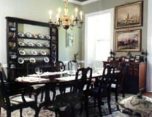 Dining Room, Sweetwater Farm, Glen Mills — DINING ROOM