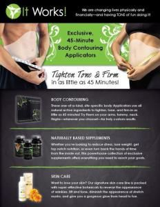 ItWorks! / Ultimate Body Applicator, Vancouver