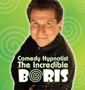 Hypnotist The Incredible BORIS in Houston, Houston — Comedy hypnotist for student activities, corporate events and private parties as seen on Maury, Montel, Howie Mandel Show, The Vegas Show, Comics and more. Check out the web site and watch videos. The show will have people talking for a long time.