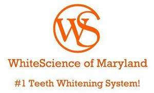 50% OFF Professional Teeth Whitening! Now ONLY $150!! (reg. $300.00), WhiteScience of Maryland, LLC, Waldorf — Logo